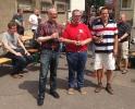 EF-Schachtag 2016 (8)Blitzmeisterschaft v.l. 2.H.Wiemers, 1.O.Heinzel, 3.R.Jacobi